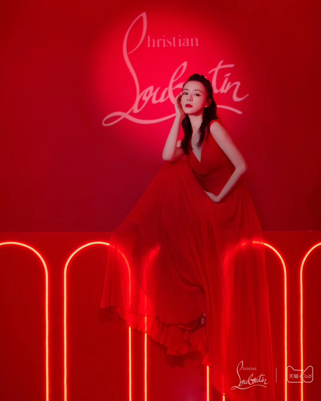 Christian Louboutin Beauty Tmall Launch Event Shanghai 2nd Dec 2019 – 8