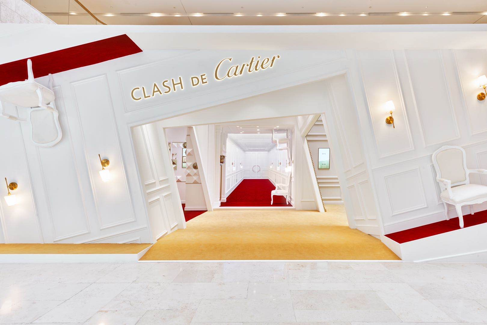 Cartier Clash Pop Up