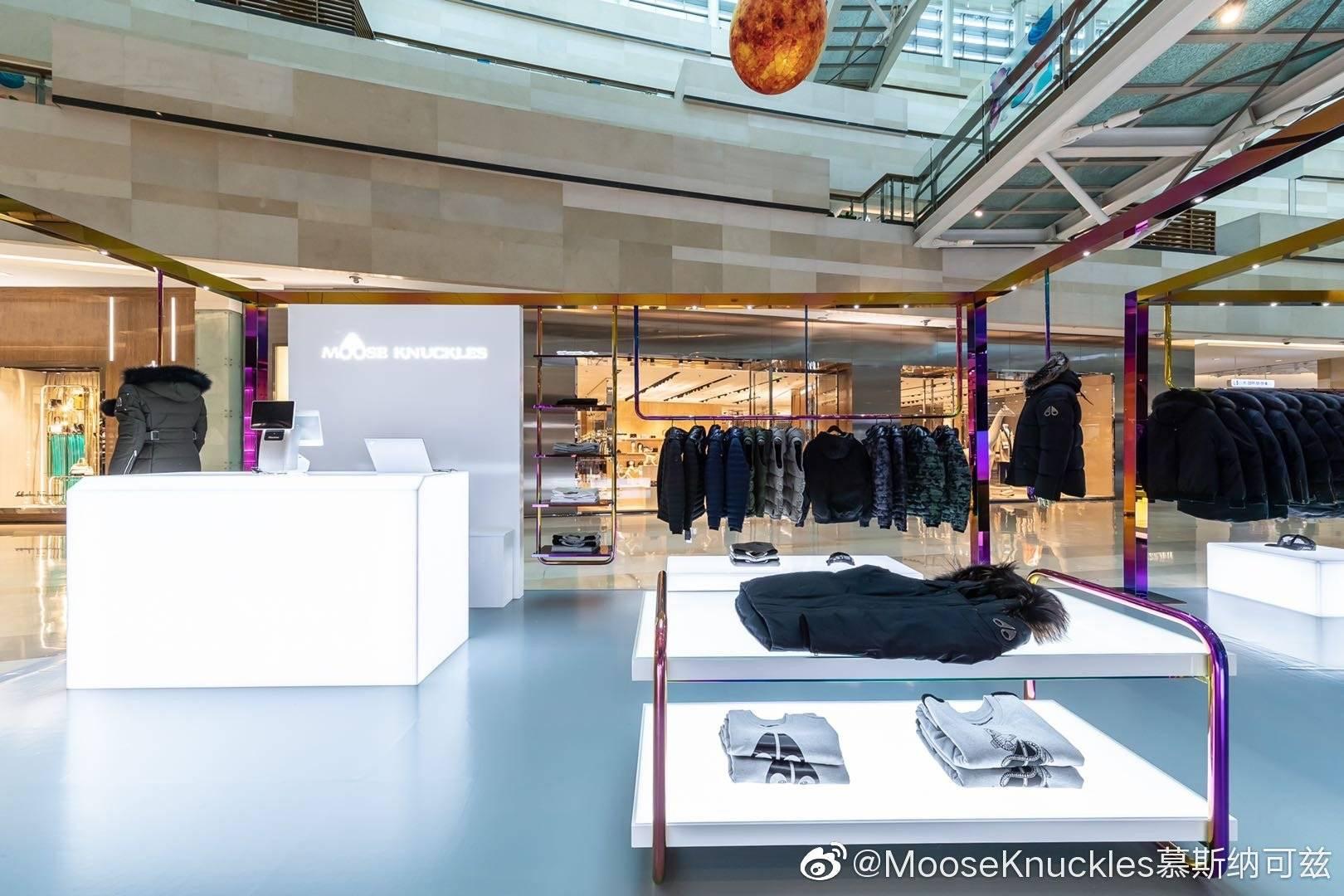Moose Knuckles Pop Up Sep 12th – Feb 28th Beijing /Hangzhou – 2