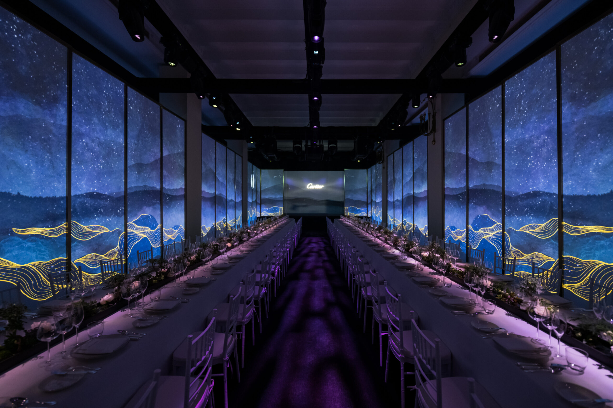Cartier P66 Boutique Re-opening & Gala Dinner July 31st Shanghai – 1