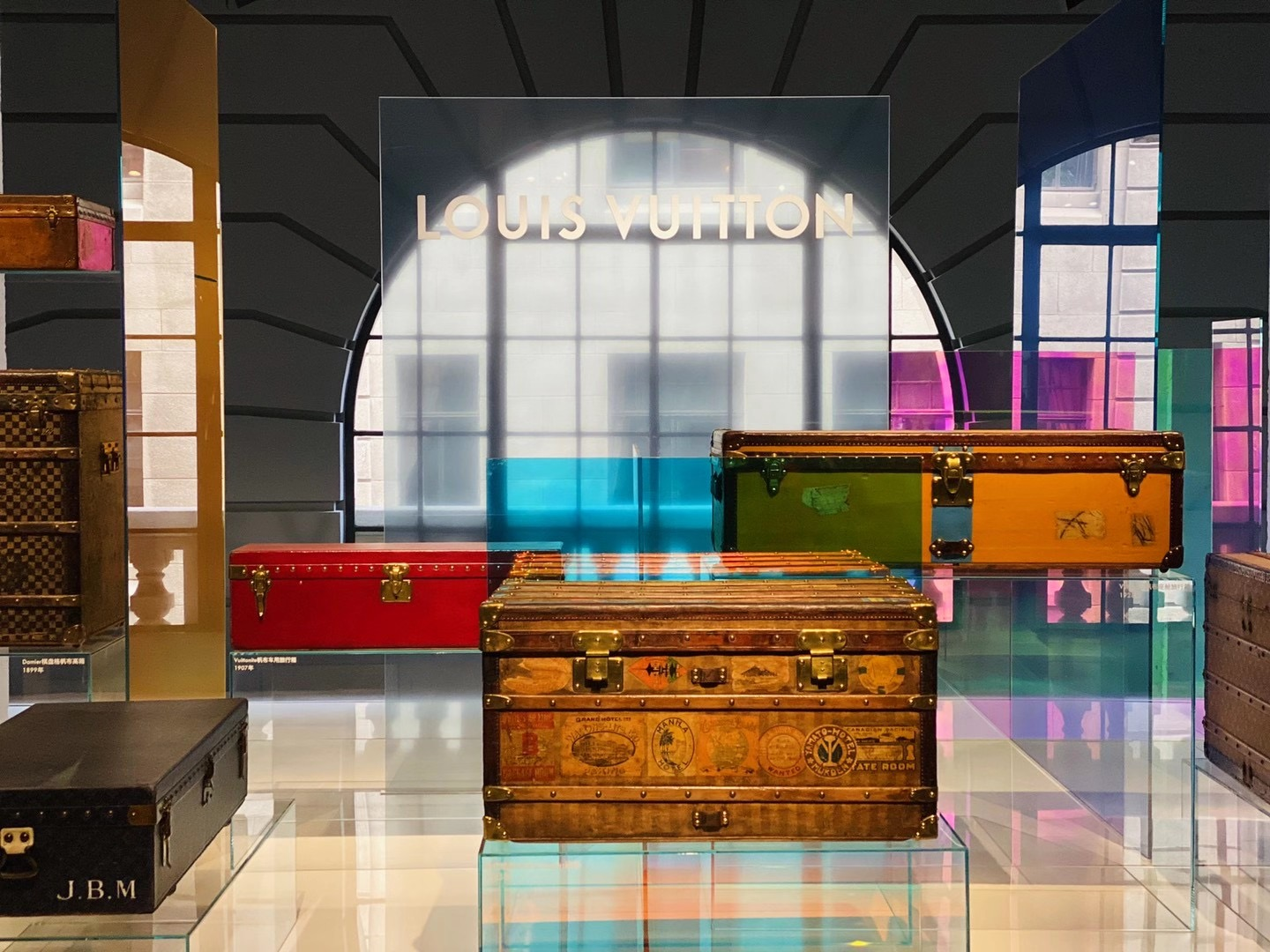 Louis Vuitton Objects Nomads and Hard-sided Event