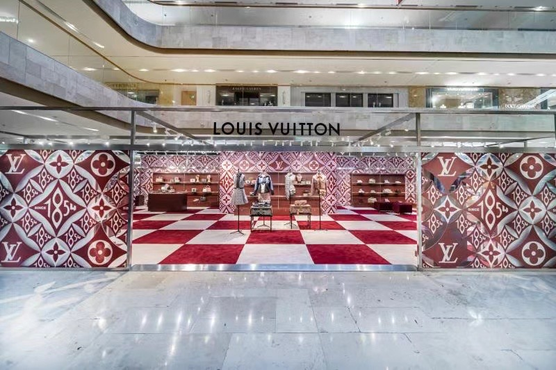 Louis Vuitton 1854 Pop Up