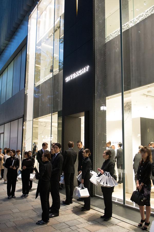 Givenchy - Omotesando Shop Opening